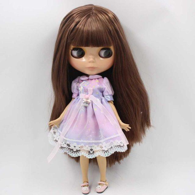 Кот-д'Івуар - преміальна лялька Blythe з милим обличчям