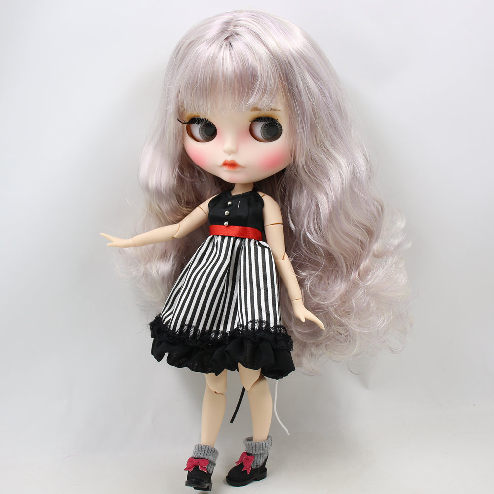 Imani – Premium Custom Blythe Doll with Pouty Face 3