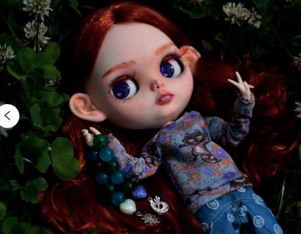 Irisha – Custom Blythe Doll One-Of-A-Kind OOAK