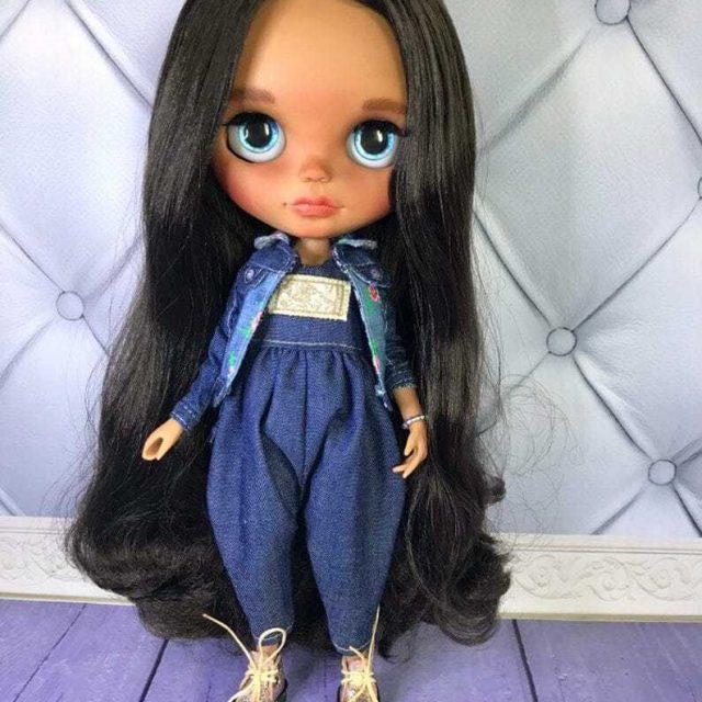 Zariyah – Custom Blythe Doll One-Of-A-Kind OOAK