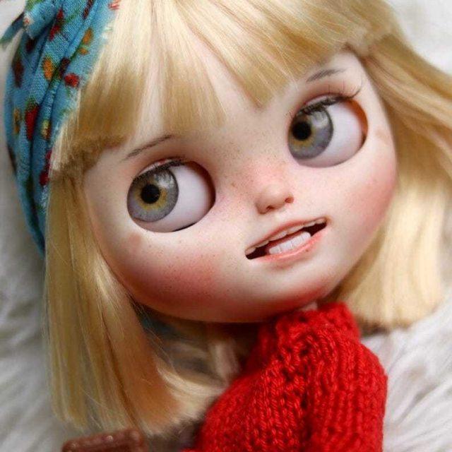 Lea - Doll Blythe Saincheaptha OOAK K-A-Kind