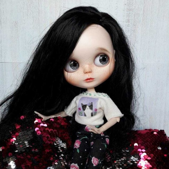 Kairi – Custom Blythe Doll One-Of-A-Kind OOAK