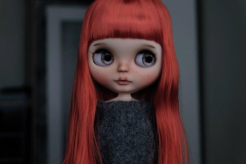 Eve - Custom Blythe Doll One-Of-A-Kind OOAK Sold-out Custom Blythes