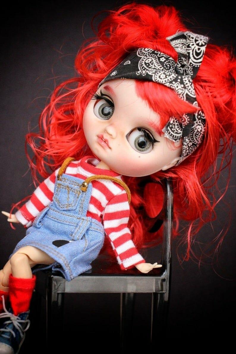 Zoe - Custom Blythe Doll One-Of-A-Kind OOAK Sold-out Custom Blythes