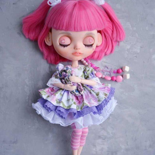 Little Pinky – Custom Blythe Doll One-Of-A-Kind OOAK