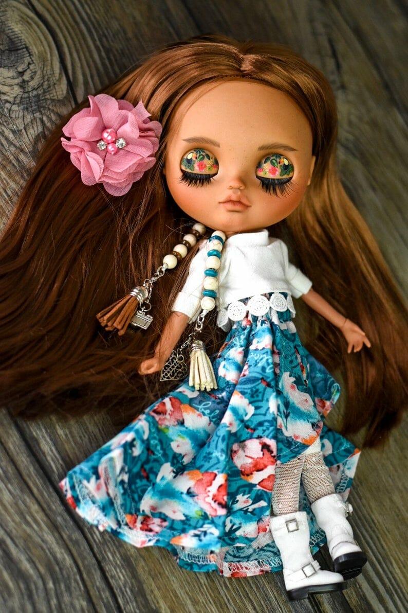 Eva - Custom Blythe Doll One-Of-A-Kind OOAK Sold-out Custom Blythes