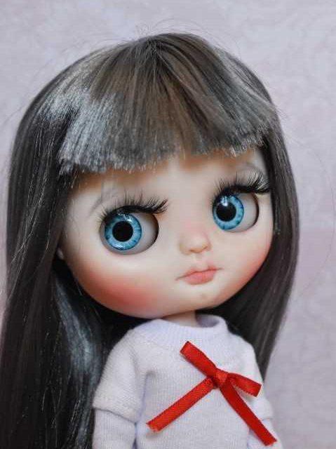 Midi - Custom Blythe хүүхэлдэй Нэг төрлийн A-төрлийн OOAK