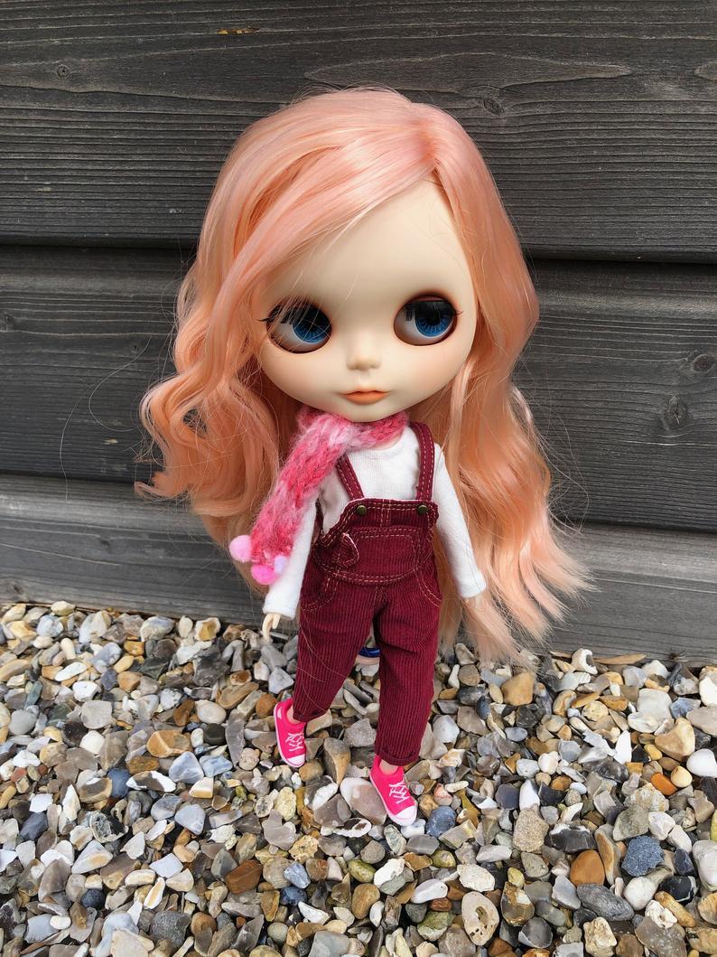 Arielle - Custom Blythe Doll One-Of-A-Kind OOAK Custom Blythe Doll ⭐