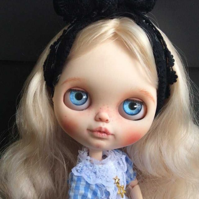 Alice- Custom Blythe Doll One-Of-A-Kind OOAK