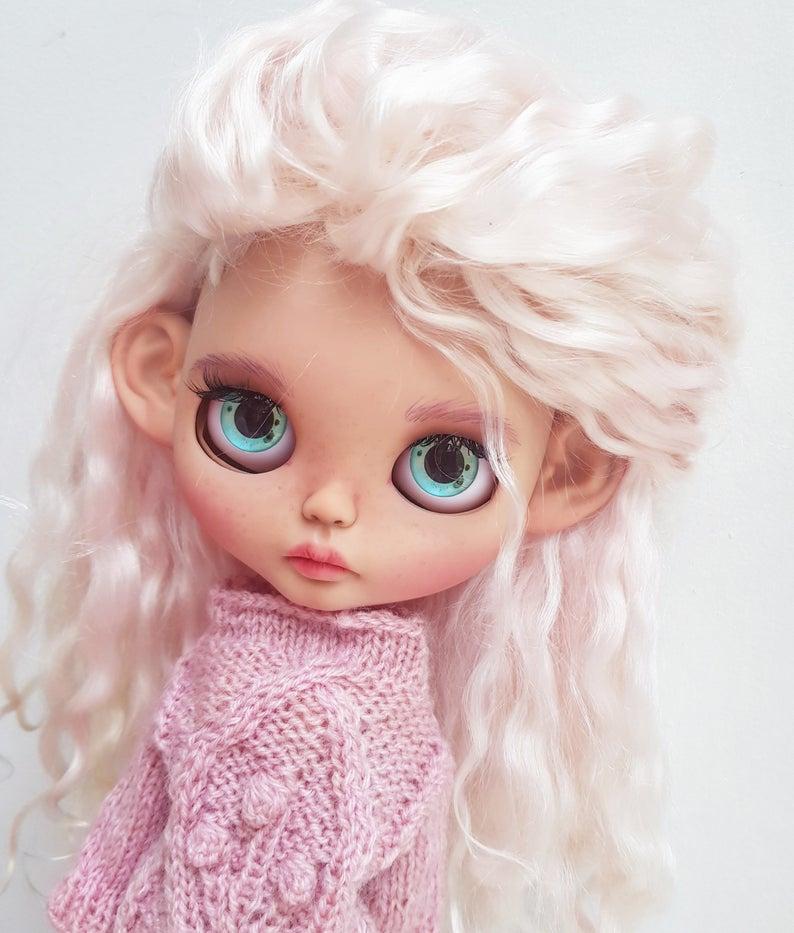 Kinley - Custom Blythe Doll One-Of-A-Kind OOAK Custom Blythe Doll ⭐