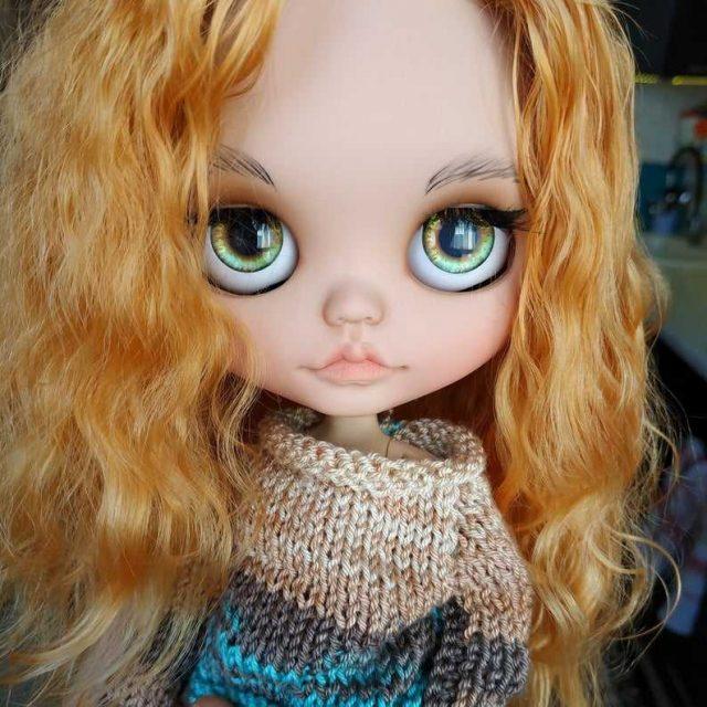 Isla – Custom Blythe Doll One-Of-A-Kind OOAK