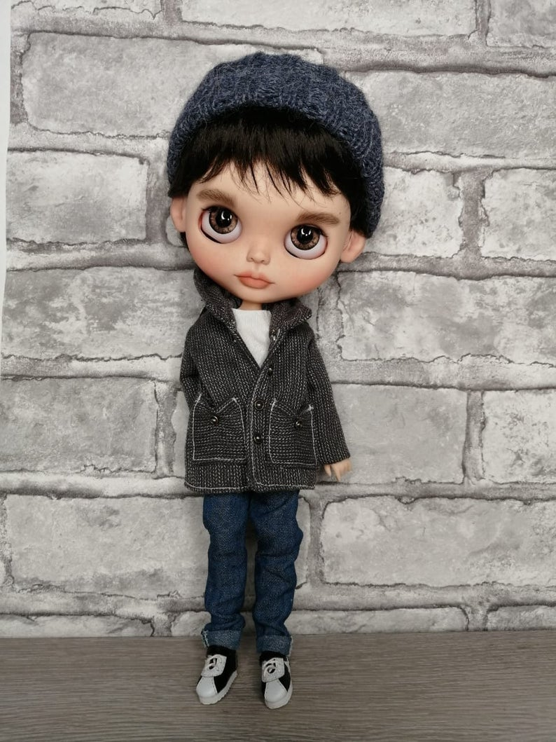 James - Custom Blythe Doll One-Of-A-Kind OOAK Sold-out Custom Blythes