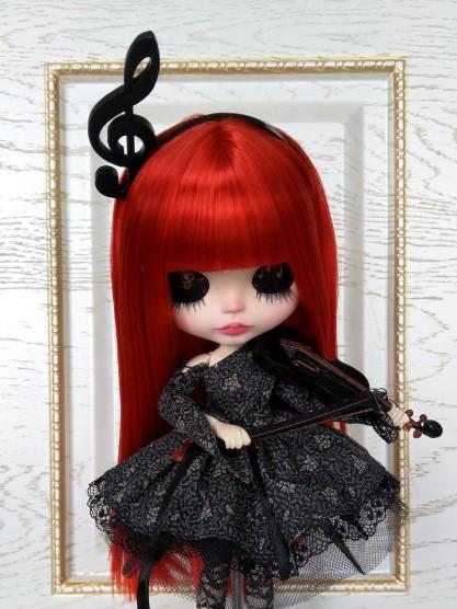 Sona - Custom Blythe Doll One-Of-A-Kind OOAK Custom Blythe Doll ⭐