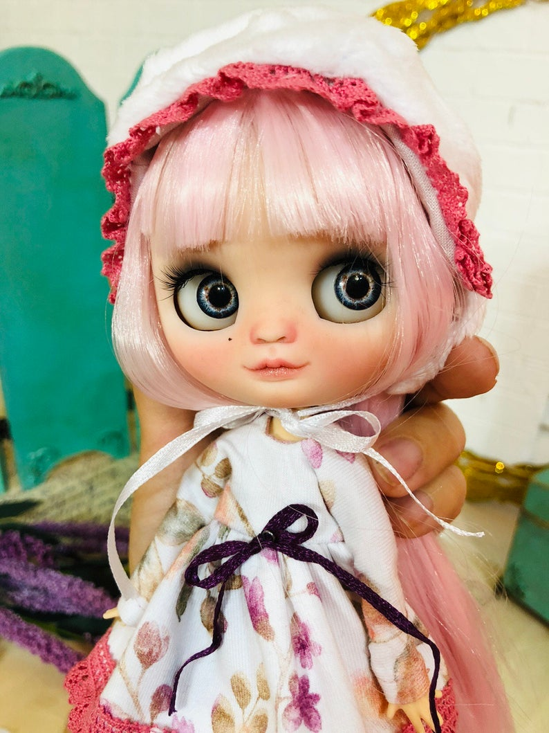 Charlee - Custom Blythe Doll One-Of-A-Kind OOAK Sold-out Custom Blythes