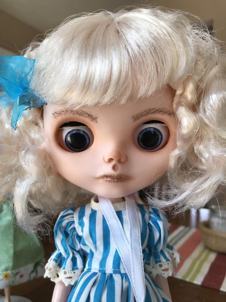 Alice - Custom Blythe Doll One-Of-A-Kind OOAK Custom Blythe Doll ⭐