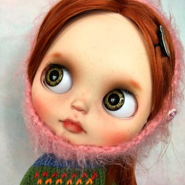 Ingwer - Benotzerdefinéiert Blythe Doll One-Of-A-Kind OOAK