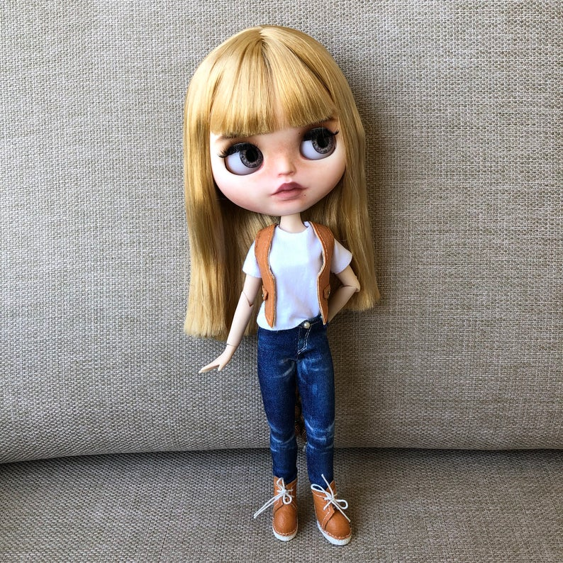 Sage - Custom Blythe Doll One-Of-A-Kind OOAK Custom Blythe Doll ⭐