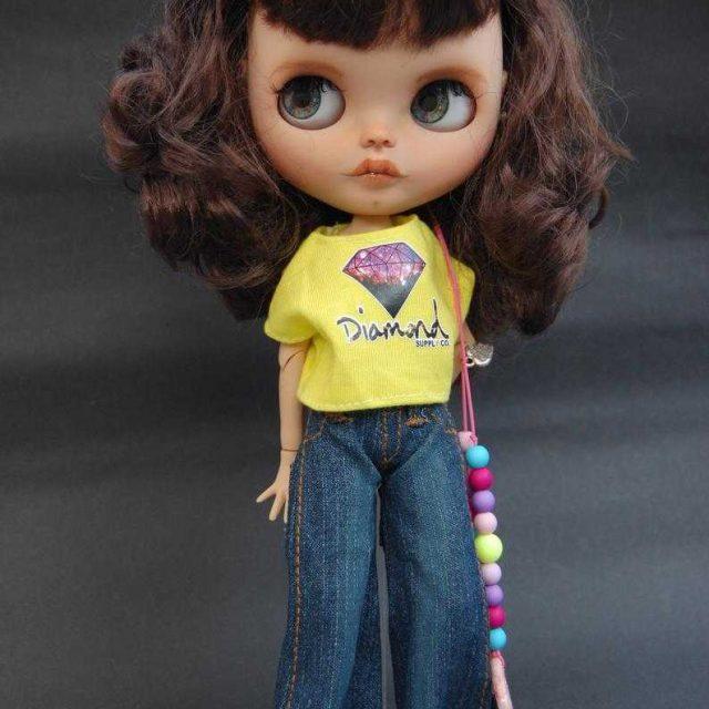 Makenzie – Custom Blythe Doll One-Of-A-Kind OOAK