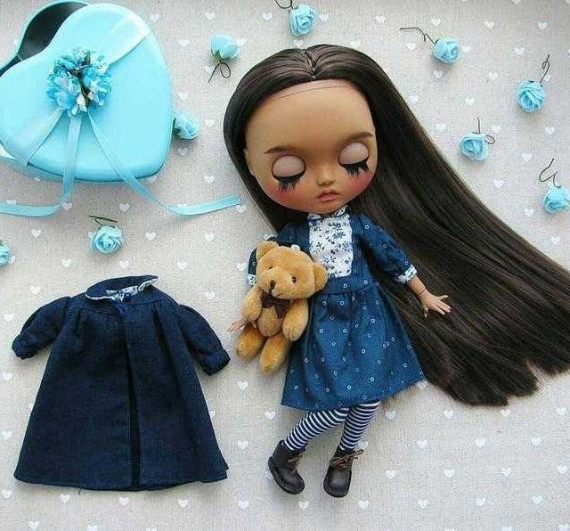 Virginia - Custom Blythe Doll One-of-A-Kind OOAK