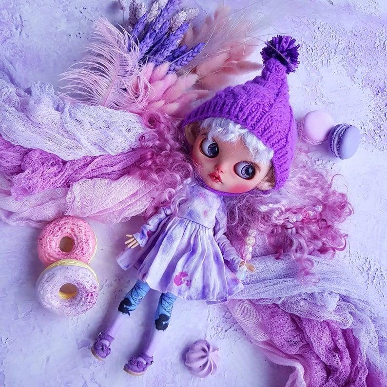 Quinn - Custom Blythe Doll One-Of-A-Kind OOAK Sold-out Custom Blythes