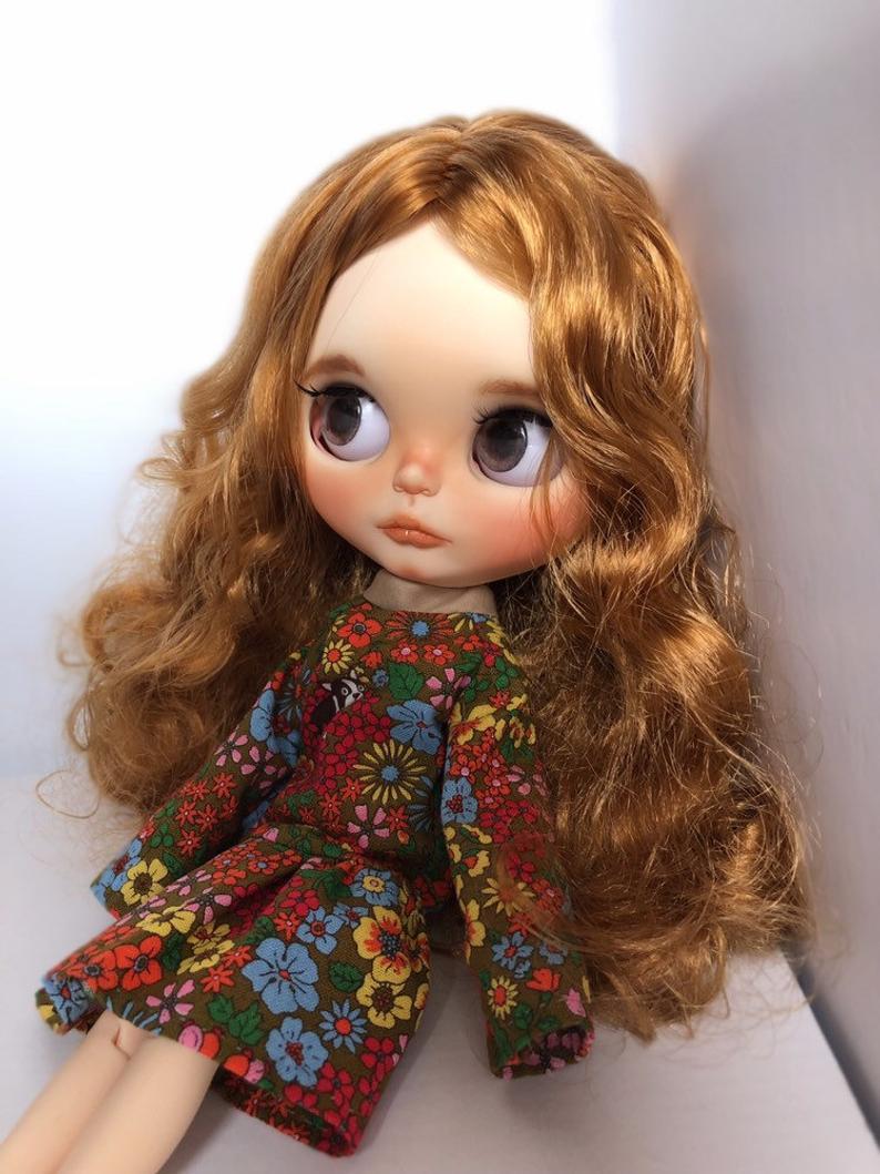 Elsie - Custom Blythe Doll One-Of-A-Kind OOAK Custom Blythe Doll ⭐