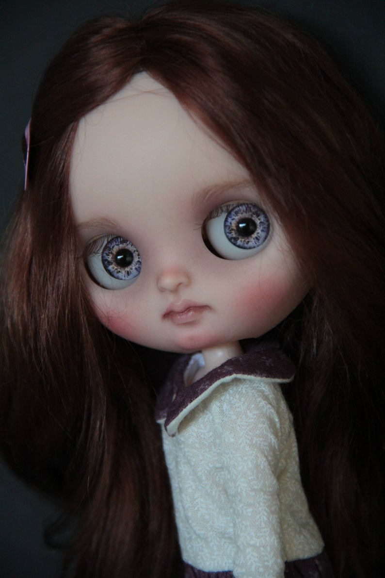Ariella - Custom Blythe Doll One-Of-A-Kind OOAK Sold-out Custom Blythes