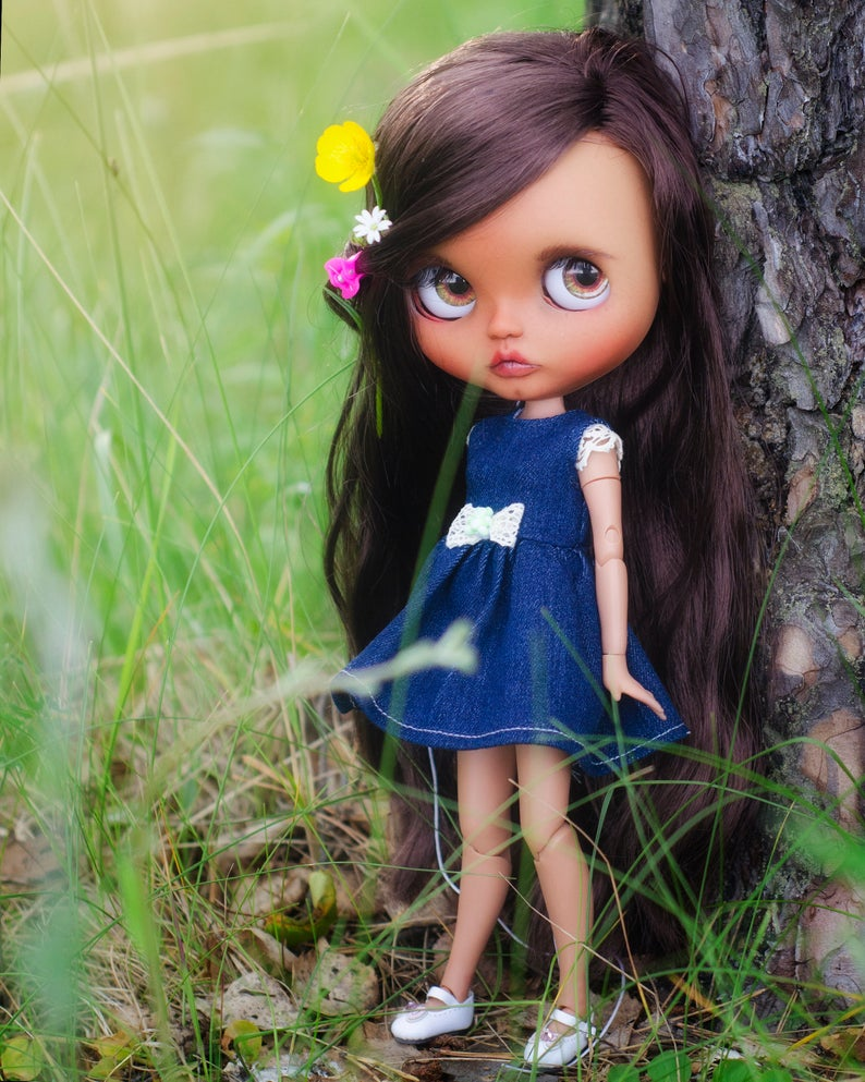 Kate - Custom Blythe Doll One-Of-A-Kind OOAK Custom Blythe Doll ⭐