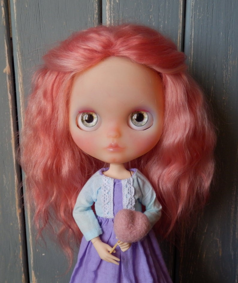 Jane - Custom Blythe Doll One-Of-A-Kind OOAK Custom Blythe Doll ⭐