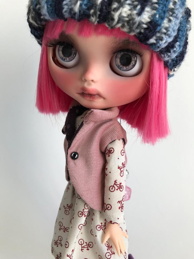 Amira - Custom Blythe Doll One-Of-A-Kind OOAK Custom Blythe Doll ⭐