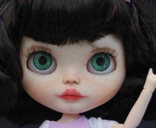 סטפני - Custom Blythe Doll One-of-A-Kind OOAK