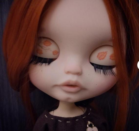 Polina - Custom Blythe Doll One-Of-A-Kind OOAK Custom Blythe Doll ⭐