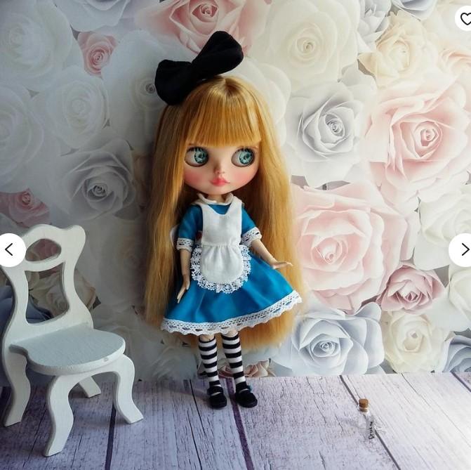 Evie - Custom Blythe Doll One-Of-A-Kind OOAK Custom Blythe Doll ⭐