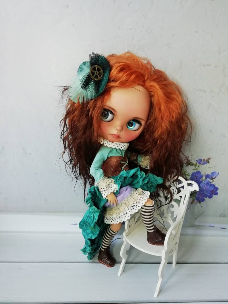 Angelika - Custom Blythe Doll One-Of-A-Kind OOAK Sold-out Custom Blythes