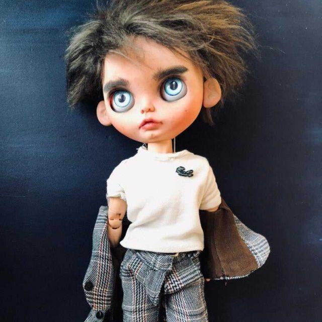 Edward Cullen - Custom Blythe Lutka-jedna-od-vrste OOAK