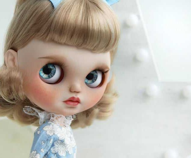 Rika - Custom Blythe Doll One-of-A-Kind OOAK