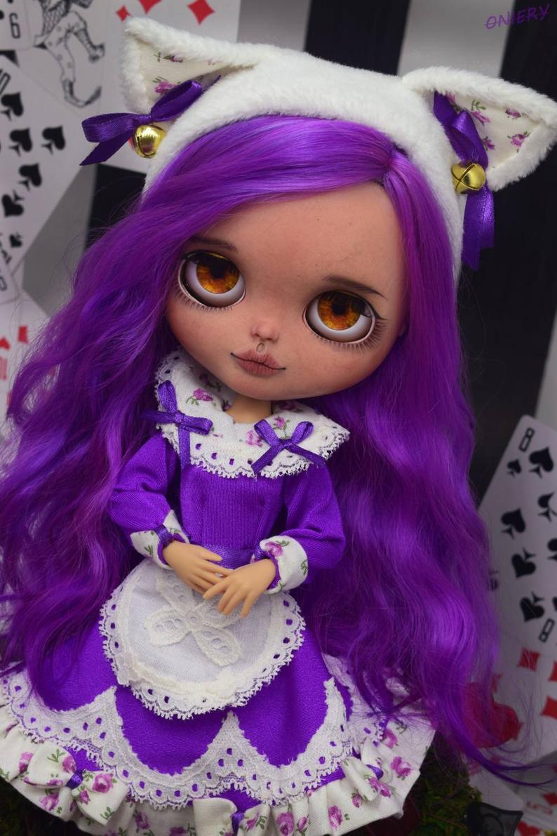 Julia - Custom Blythe Doll One-Of-A-Kind OOAK Custom Blythe Doll ⭐