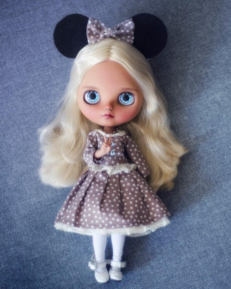 Daleyza - Custom Blythe Doll One-Of-A-Kind OOAK Custom Blythe Doll ⭐