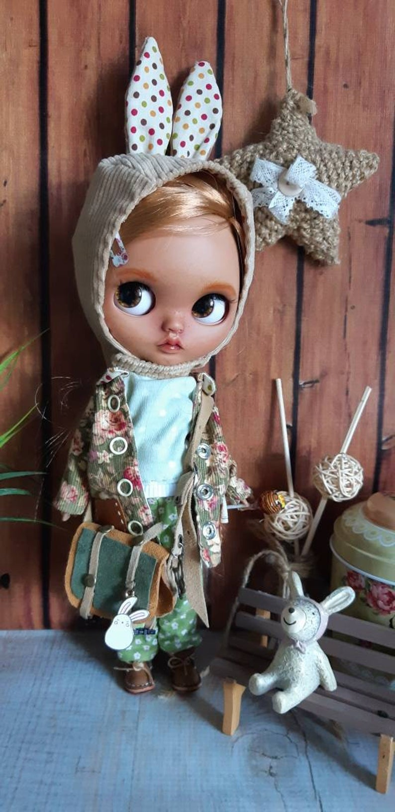 Betty - Custom Blythe Doll One-Of-A-Kind OOAK Sold-out Custom Blythes