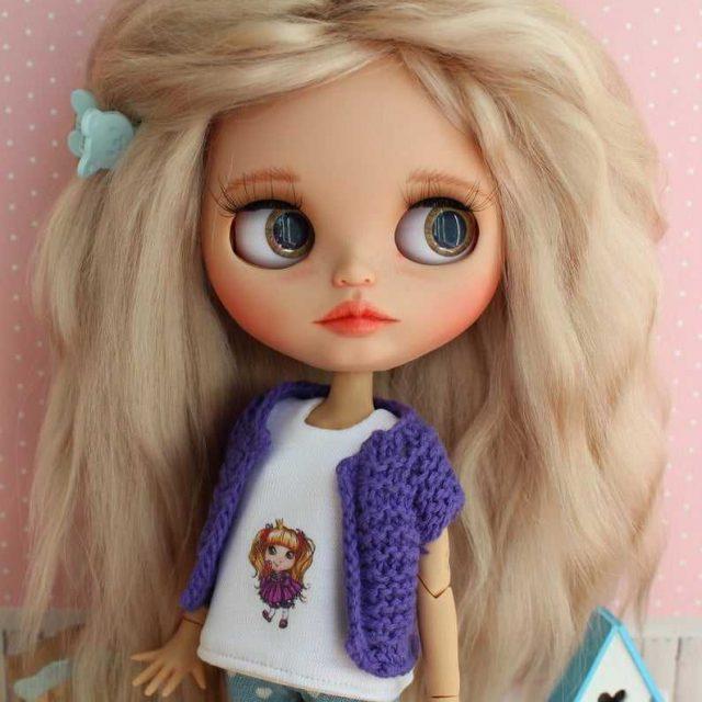 Ivy - Aṣa Blythe Doll Ọkan-Of-A-Kind OOAK