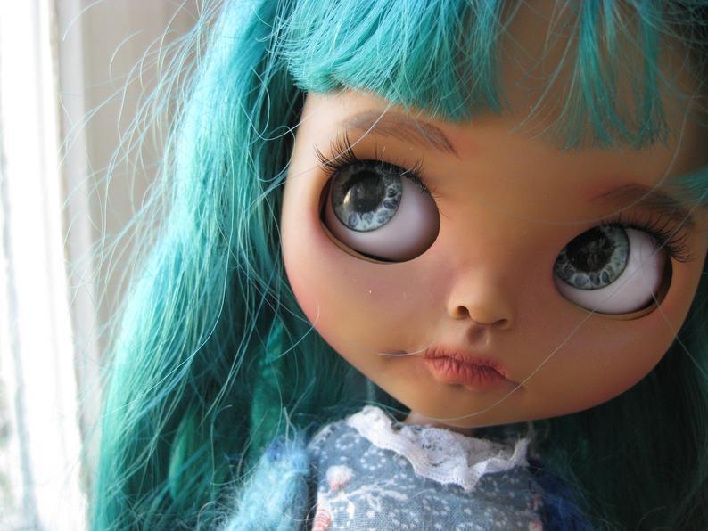 Serafima - Custom Blythe Doll One-Of-A-Kind OOAK Custom Blythe Doll ⭐