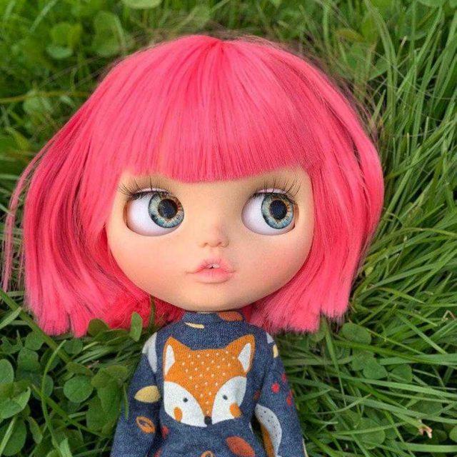 Mika - Blythe Doll Kustom Satu-Of-A-Kind OOAK