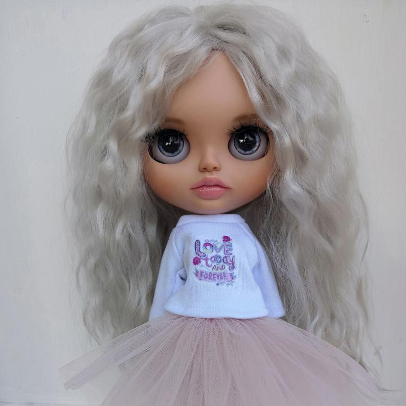 Myla - Custom Blythe Doll One-Of-A-Kind OOAK Custom Blythe Doll ⭐