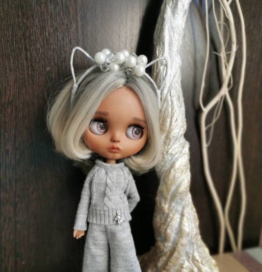Maggie - Custom Blythe Doll One-Of-A-Kind OOAK Custom Blythe Doll ⭐