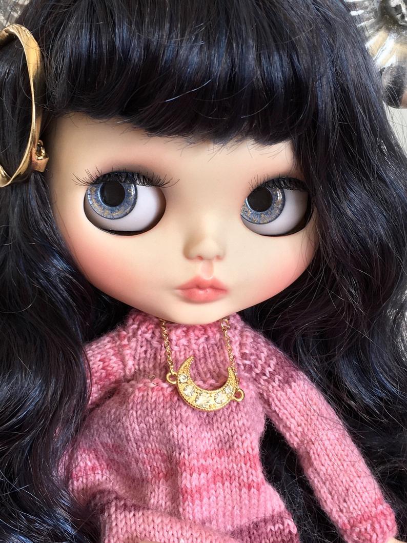 Nina - Custom Blythe Doll One-Of-A-Kind OOAK Sold-out Custom Blythes