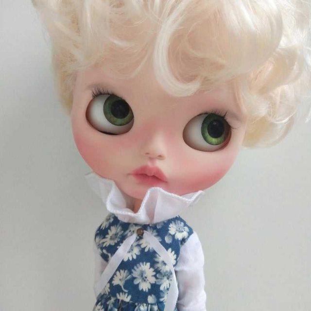 Gabrielle - Custom Blythe Doll One-Of-A-Kind OOAK