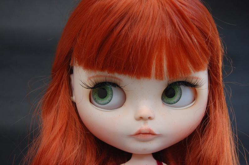 Adelynn - Custom Blythe Doll One-Of-A-Kind OOAK Custom Blythe Doll ⭐
