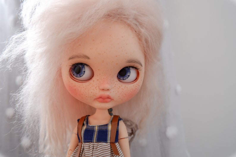 Paris - Custom Blythe Doll One-Of-A-Kind OOAK Sold-out Custom Blythes