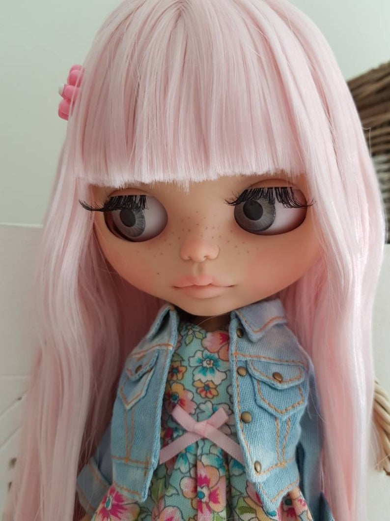 Rose - Custom Blythe Doll One-Of-A-Kind OOAK Sold-out Custom Blythes