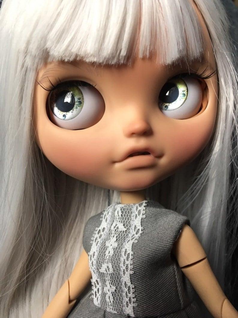 Nova - Custom Blythe Doll One-Of-A-Kind OOAK Sold-out Custom Blythes