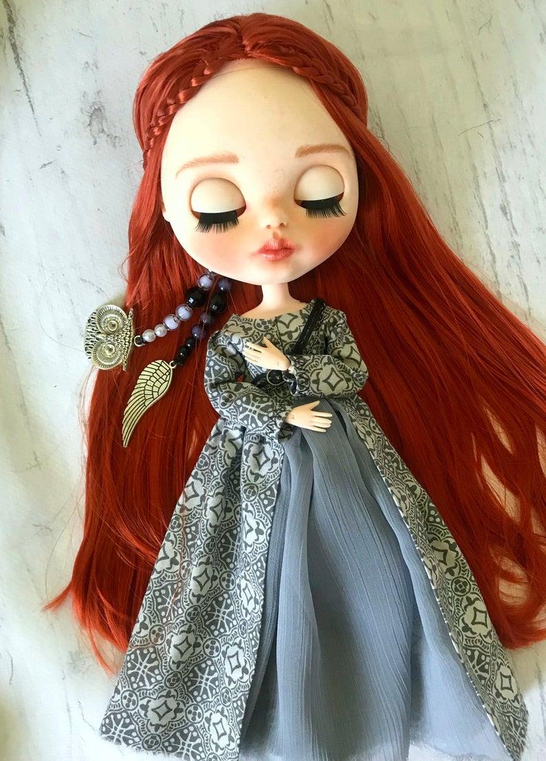Sansa Stark - Custom Blythe Doll One-Of-A-Kind OOAK Custom Blythe Doll ⭐